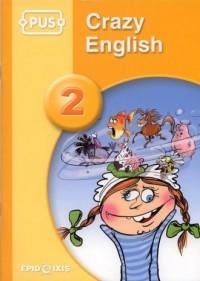 PUS. Crazy English 2 - okładka podręcznika