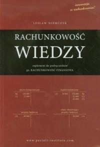 Rachunkowość wiedzy - okładka książki