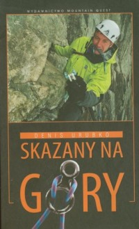 Skazany na góry - okładka książki