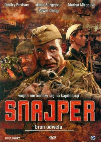 Snajper (DVD) - okładka filmu
