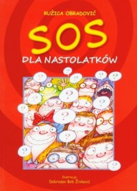 SOS dla nastolatków - okładka książki