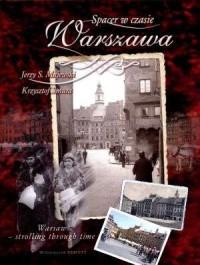 Spacer w czasie. Warszawa - okładka książki