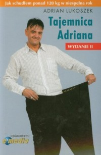 Tajemnica Adriana - okładka książki