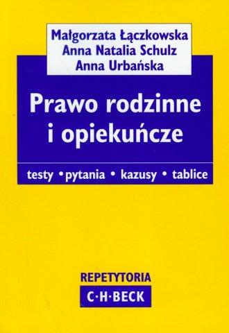 ksi��ka -  Prawo rodzinne i opieku�cze - Ma�gorzata ��czkowska