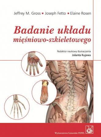 Badanie układu mięśniowo-szkieletowego - okładka książki