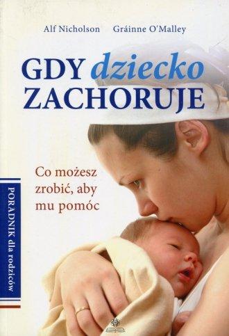 Gdy dziecko zachoruje - okładka książki