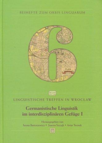 Germanistische Linguistik im interdisziplinaren - okładka książki