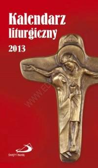 Kalendarz liturgiczny 2013 - okładka książki