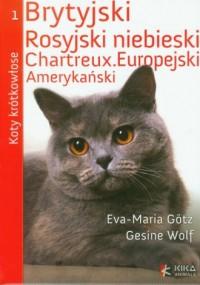 Koty krótkowłose - okładka książki