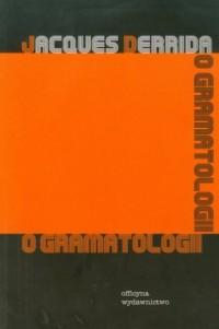 O gramatologii - okładka książki