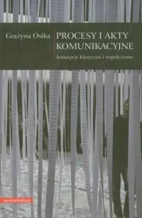Procesy i akty komunikacyjne - okładka książki