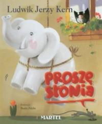 Proszę Słonia - okładka książki