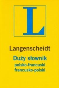 Słownik duży polsko-francuski, francusko-polski - okładka książki
