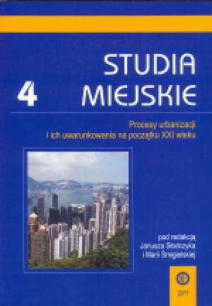 Studia Miejskie. Tom 4. Procesy - okładka książki