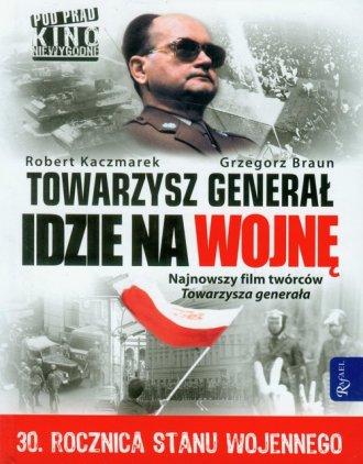 Towarzysz generał idzie na wojnę - okładka książki