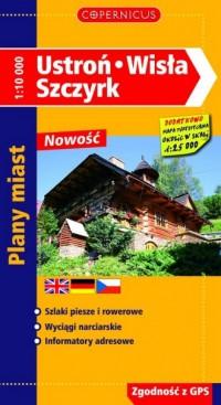 Ustroń, Wisła, Szczyrk - okładka książki