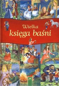 Wielka księga baśni - okładka książki