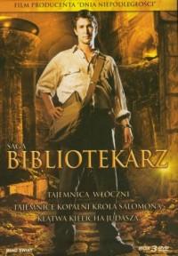 Bibliotekarz. Tajemnica włóczni / Tajemnice kopalni króla Salomona / Klątwa kielicha Judasza (DVD) - okładka filmu