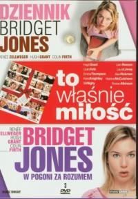 Dziennik Bridget Jones / To właśnie miłość / Bridget Jones w pogoni za rozumem (DVD) - okładka filmu
