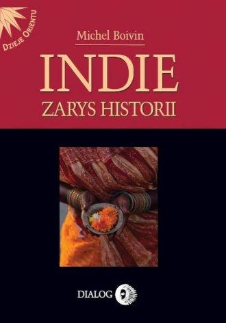 Indie. Zarys historii - okładka książki