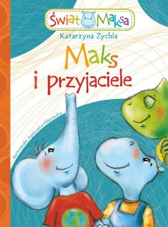 Maks i przyjaciele - okładka książki