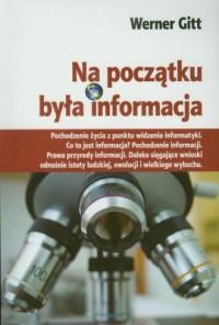 Na początku była informacja - okładka książki