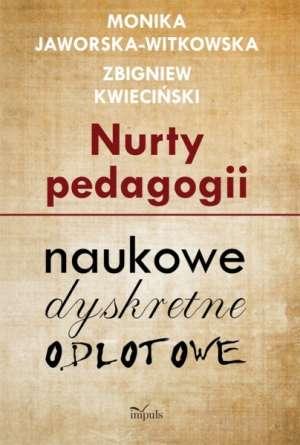 Nurty pedagogii - okładka książki