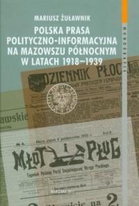 Polska prasa polityczno-informacyjna - okładka książki