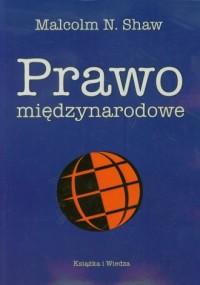 Prawo międzynarodowe - okładka książki