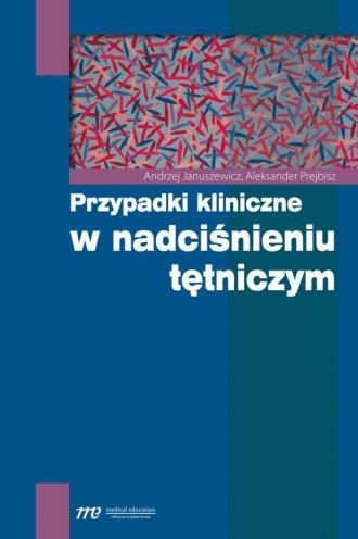 Przypadki kliniczne w nadciśnieniu - okładka książki