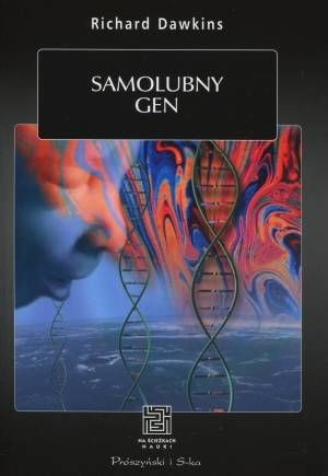 Samolubny gen - okładka książki