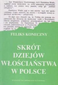 Skrót dziejów włościaństwa w Polsce - okładka książki