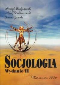 Socjologia - okładka książki
