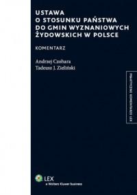 Ustawa o stosunku państwa do gmin wyznaniowych żydowskich w polsce - okładka książki