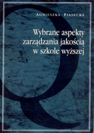 Wybrane aspekty zarządzania jakością - okładka książki