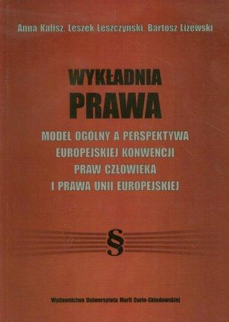 Wykładnia prawa - okładka książki