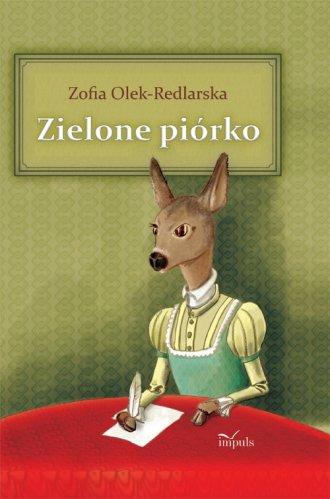 Zielone piórko - okładka książki