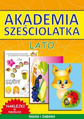 Akademia sześciolatka. Lato - okładka książki