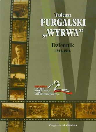 Dziennik 1913-1916 - okładka książki