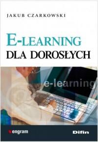 E-learning dla dorosłych - okładka książki