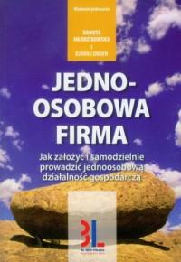Jednoosobowa firma - okładka książki