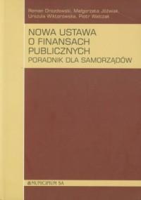 Nowa ustawa o finansach publicznych + Suplement - okładka książki