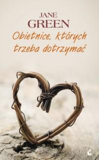 Obietnice, których trzeba dotrzymać - okładka książki