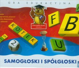 Samogłoski i spółgłoski - zdjęcie zabawki, gry