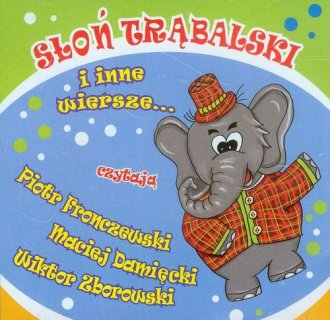 Słoń Trąbalski i inne wiersze (CD) - pudełko audiobooku