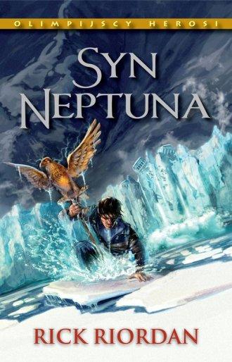 Syn Neptuna. Seria: Olimpijscy - okładka książki