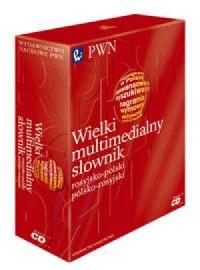 Wielki multimedialny słownik rosyjsko-polski i polsko-rosyjski PWN (CD) - okładka książki