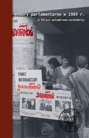 Wybory parlamentarne w 1989 r. - okładka książki