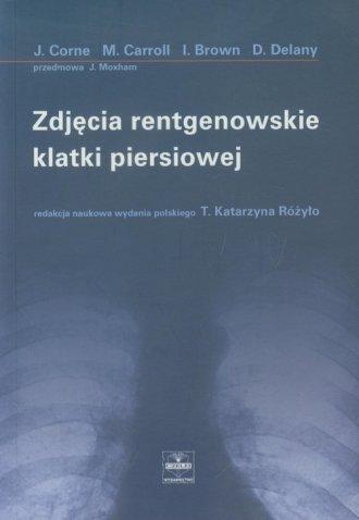 Zdjęcia rentgenowskie klatki piersiowej - okładka książki