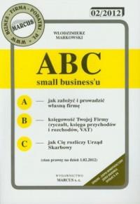 ABC small businessu 2012 - okładka książki